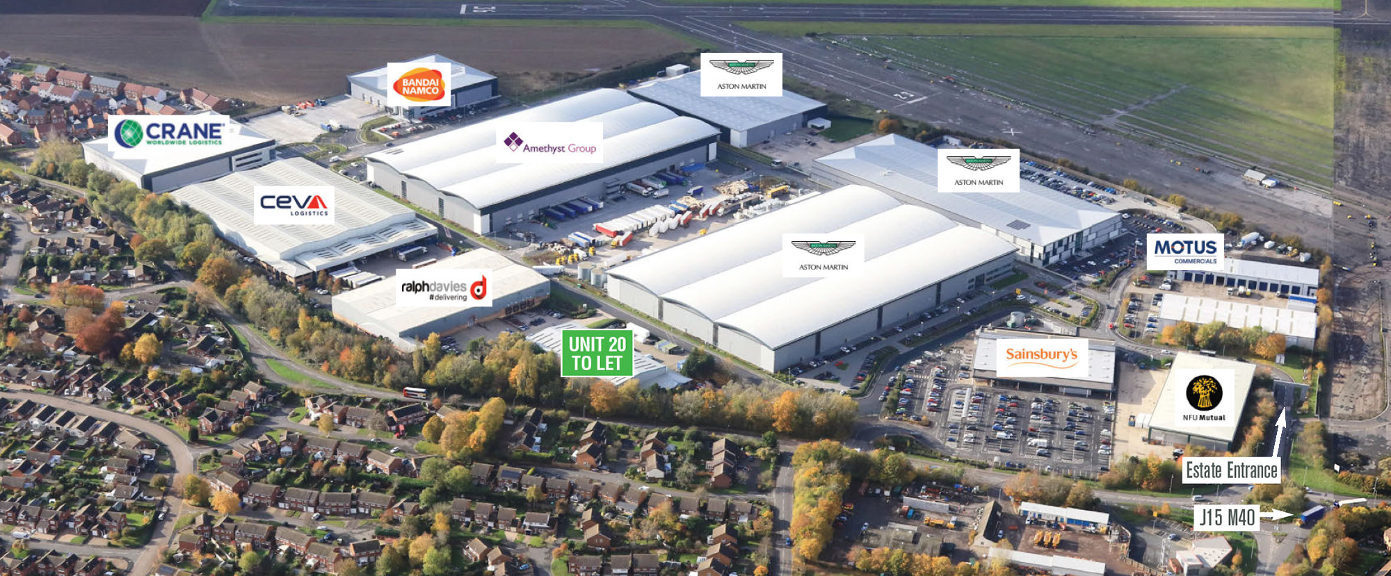 Wellesbourne Distribution Park - Established 59 Acre Distribution Park